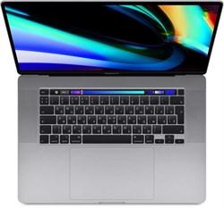 """Ноутбук APPLE MacBook Pro 16"""", IPS, Intel Core i9 9880H 2.3ГГц, 16ГБ, 1ТБ SSD, Radeon Pro 5500M - 4096 Мб, macOS, MVVK2RU/A, серый космос - фото 5429"""