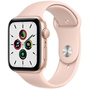 Apple Watch SE GPS 40mm Gold Aluminum Case with  Sport Band (Спортивный ремешок)
