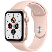 Apple Watch SE GPS 44mm Gold Aluminum Case with  Sport Band (Спортивный ремешок)
