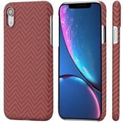 Чехол PITAKA MagCase для iPhone XR, красно/оранжевый (полоска)