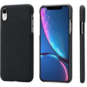 Чехол PITAKA MagCase для iPhone XR, чёрно/серый (полоска)