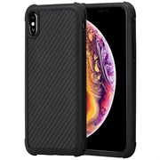Чехол PITAKA MagCase для iPhone Xs Max, чёрно/серый (полоска)