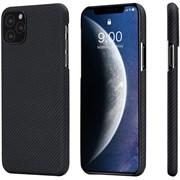 Чехол PITAKA Air Case для iPhone 11 Pro Max, чёрно/серый (полоска)