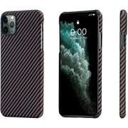 Чехол PITAKA MagEZ Case для iPhone 11 Pro MAX, чёрно/золотой (полоска)