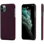 Чехол PITAKA MagEZ Case для iPhone 11 Pro MAX, чёрно/красный (клетка)
