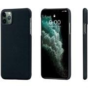 Чехол PITAKA MagEZ Case для iPhone 11 Pro MAX, чёрно/серый (клетка)