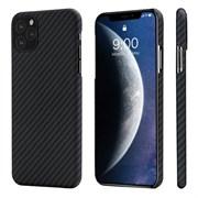 Чехол PITAKA MagEZ Case для iPhone 11 Pro MAX, чёрно/серый (полоска)