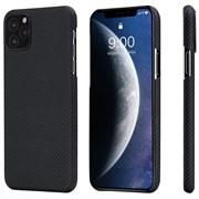 Чехол PITAKA Air Case для iPhone 11 Pro, чёрно/серый (полоска)