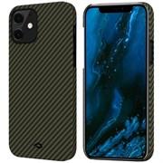 "Чехол PITAKA MagEZ Case для iPhone 12 mini 5.4"", черный/желтый (Black/Yellow Twill)"