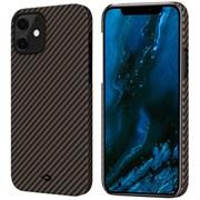 """Чехол PITAKA MagEZ Case для iPhone 12 mini 5.4"""", черный/золотой (Black/Gold Twill)"""