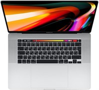 Ноутбук Apple MacBook Pro 16 2019 3072x1920 IPS, Core i7 9750H 2.6 ГГц, 16Гб, 2048Гб SSD, Radeon Pro 5300M 4Гб, MacOS, Z0Y1003X2 Z0Y1/2, серебро