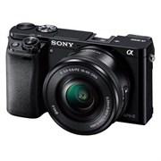 Фотоаппарат Sony Alpha ILCE-6000 Kit E PZ 16-50 OSS черный