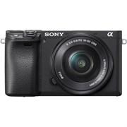Фотоаппарат Sony Alpha ILCE-6400 Kit E PZ 16-50mm F3.5-5.6 OSS черный