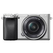 Фотоаппарат Sony Alpha ILCE-6400 Kit E PZ 16-50mm F3.5-5.6 OSS серебристый