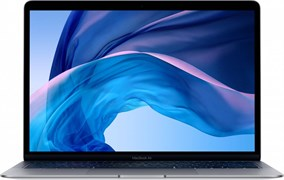 Ноутбук Apple MacBook Air 13 i3 256Gb дисплей Retina с технологией True Tone Early 2020 (Dual-Core i3 1,1 ГГц, 8 ГБ, 256 ГБ SSD) Серый космос (MWTJ2)