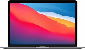 "Ноутбук РСТ Apple MacBook Air 13 M1 256Gb 2020 Space Gray (M1,13.3""/2560x1600/8GB/256GB SSD/Apple graphics 7-core/Wi-Fi/macOS)"