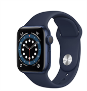 Apple Watch Series 6 GPS 44mm Aluminum Case with Sport Band Deep Navy MG143